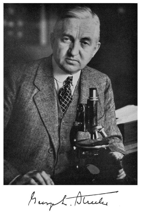 George Linius Streeter, MD